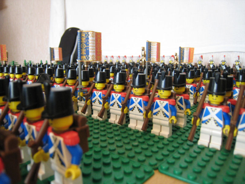 Napoleon and his army - Version 2 0 - Pirate MOCs