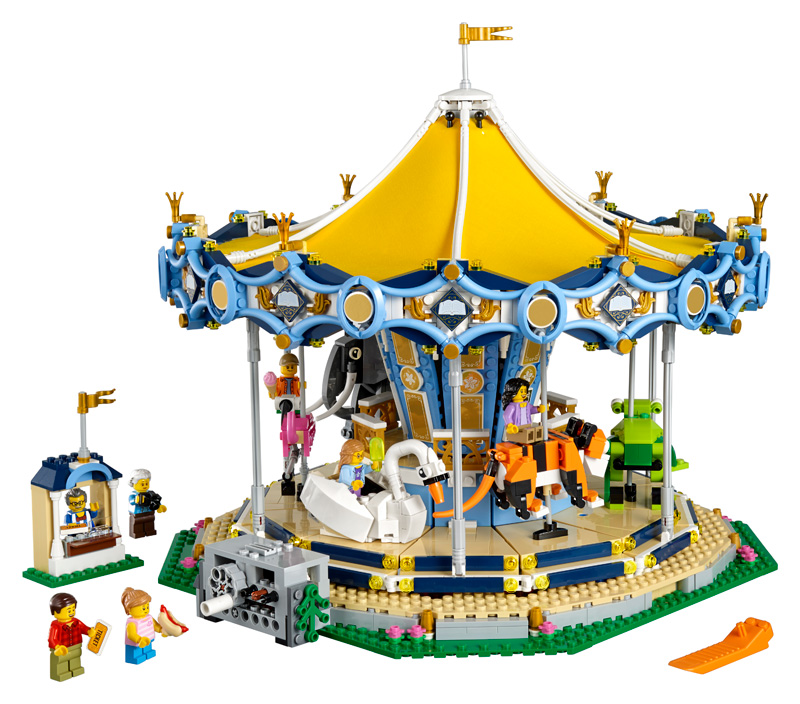 New LEGO D2C Exclusive 10257 Carousel - Frontpage News