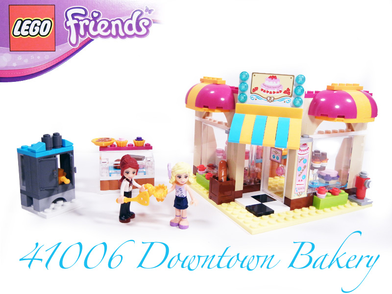Review: 41006 Downtown Bakery - LEGO Town - Eurobricks Forums