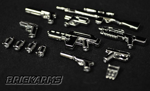 BrickArms chrome packs