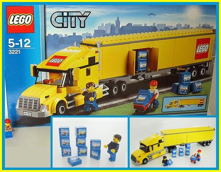 Review 3221 City Truck Lego Town Eurobricks Forums