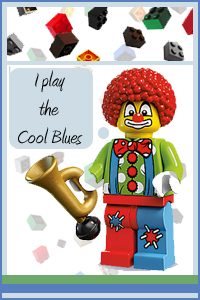 Cool Blues Clown