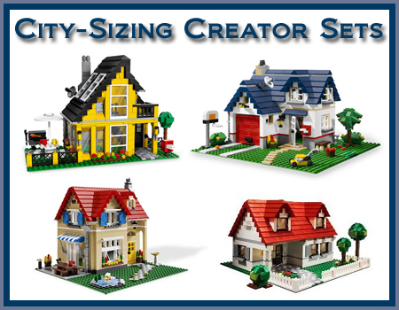 City-Sizing Creator Sets - LEGO Town - Eurobricks Forums