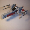 X wing Fighter In 10188 scale, By Tereglith
