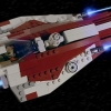 Ahsoka's Starfighter, By DarthTwoShedsJackson