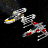 X wing And Y wing, By DonBrizzel