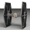 Sienar Fleet Systems TIE Fighter, By rx79gez8gundam