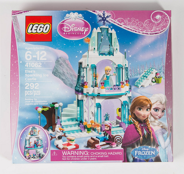 LEGO Pictorial Review: 41062 Elsa's Sparkling Ice Castle - Frontpage ...