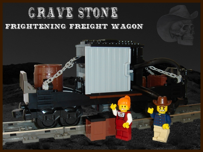 Frightening Freight Wagon