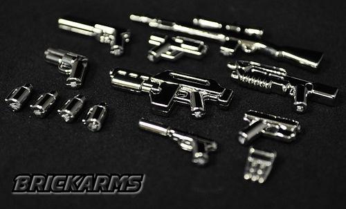 BrickArms chrome packs