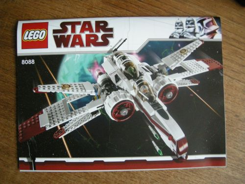 lego star wars arc 170 starfighter instructions