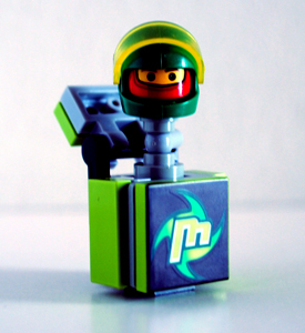 Jack-in-the-Box Racer