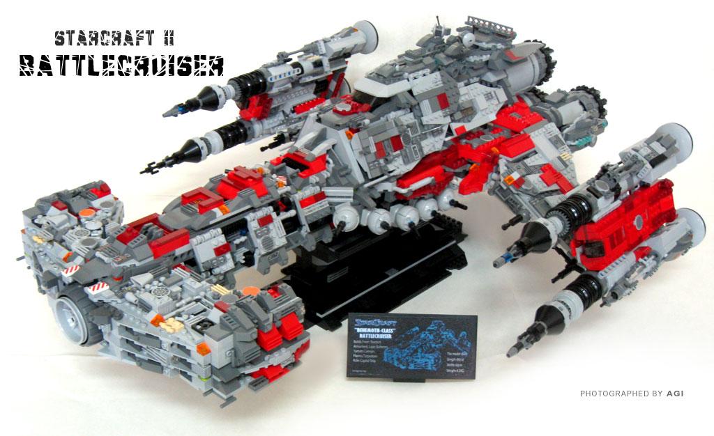 """""""StarCraft"""" terrain battlecruiser"""