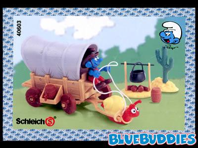 Smurf Western Playset