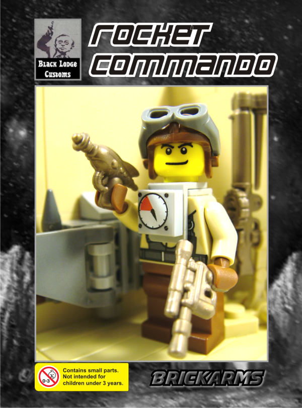 Rocket Commando custom fig
