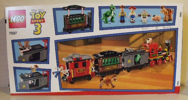 lego toy story train instructions