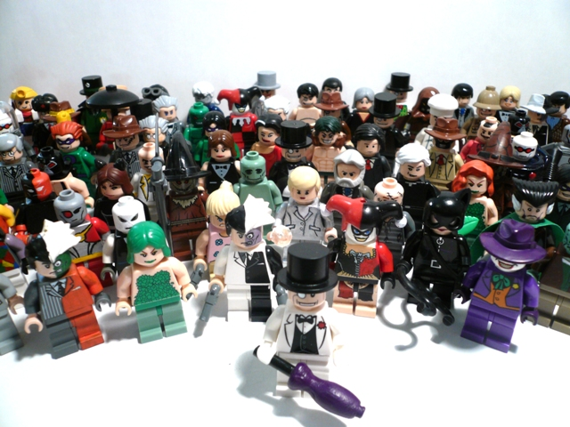 The Penguin's Batman Villains