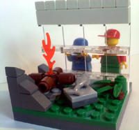 EB/CT Collectible LEGO Minifigs Series 1 Contest Entries