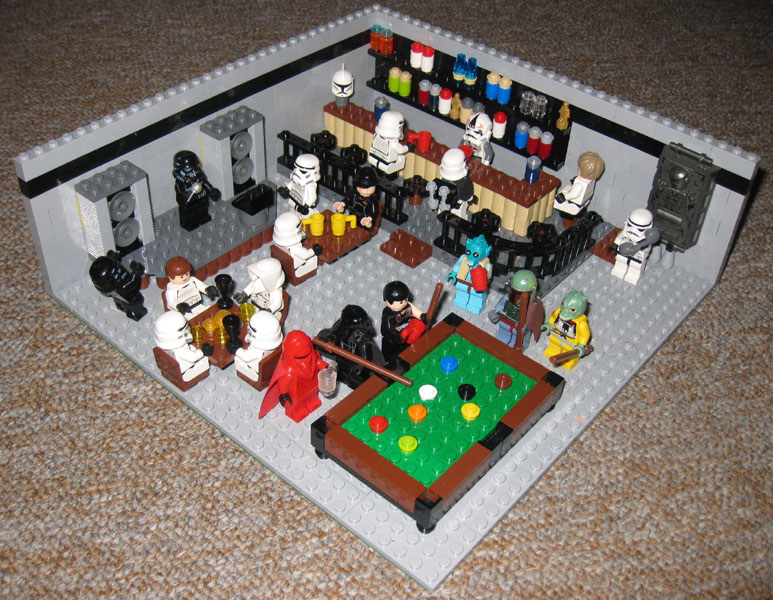 Death Star Bar by JurassicBrick