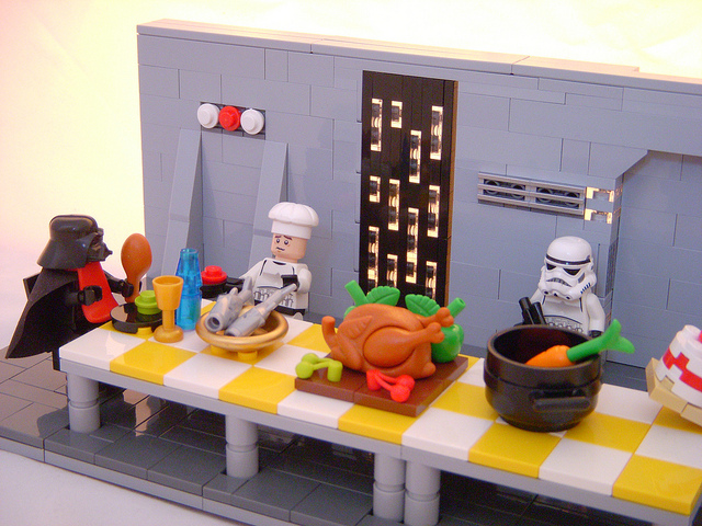 Darth Vader's lunch by Cecilie