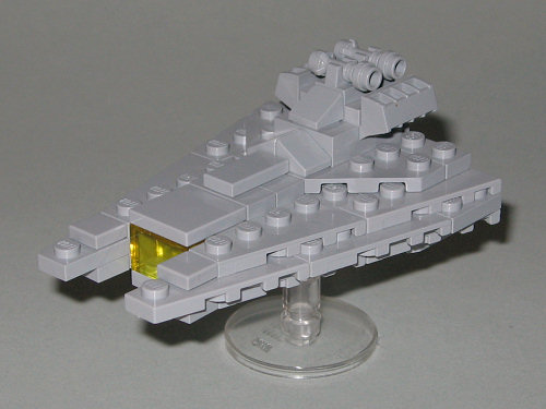 MINI Gladiator Star Destroyer & Broadside Cruiser by Legostein