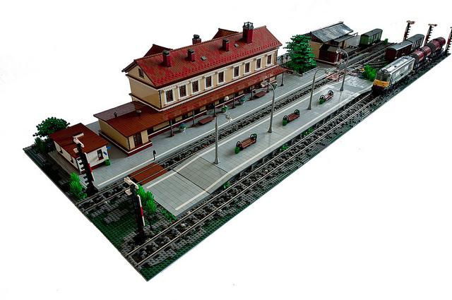 Train Station by Maciej
