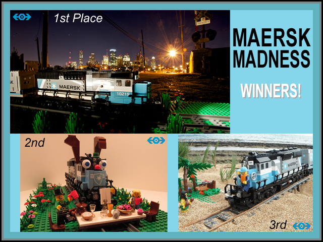 Maersk Madness Winners
