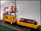 Xm2-2 w Catenary Work Wagon