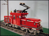 Be 4-4II Modern Electric Freight LBB Locomotive