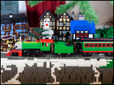 Christmas Train and Layout