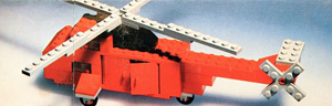 LEGO 691 Rescue Helicopter