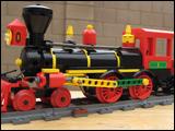 4-4-0 American Steam Engine