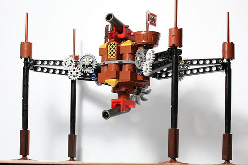 Steampunk OG-9 Homing Spider Droid, by dr_spock