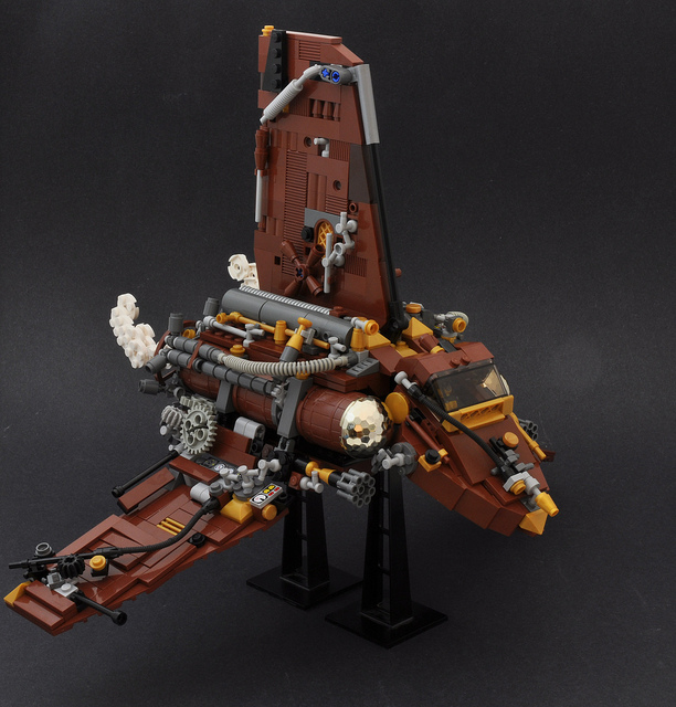 Steampunk Imperial Shuttle, by Si-MOCs.jpg