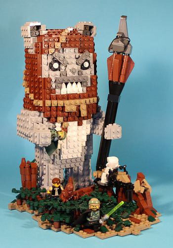 Big Angry Ewok!, by George G..jpg