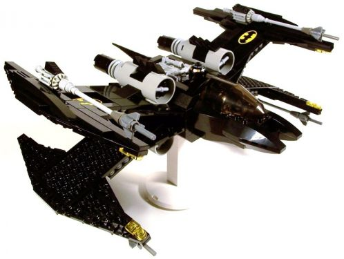 The Bat-Wing Fighter, by M<0><0<DSWIM