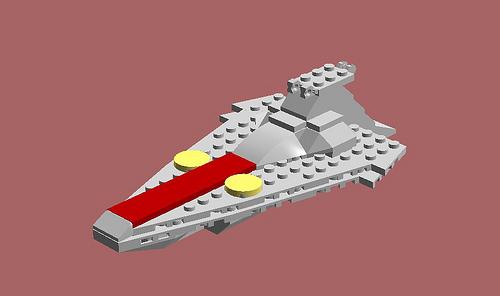 Midi-scale Acclamator Star Destroyer, by Jason C. Hand.jpg