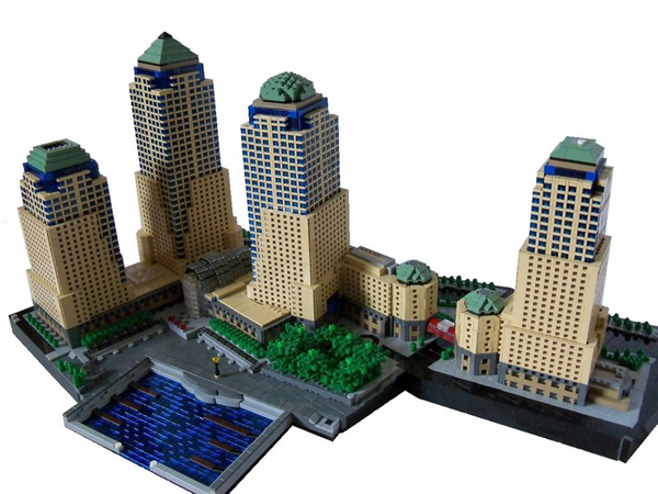Moc Lower Manhattan In Lego Frontpage News