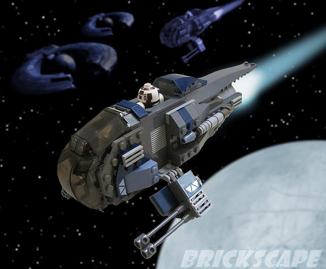 Separatist Escort Starfighter, by Brickscape.jpg