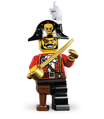 LEGO Minifigure Series 8 - Pirate Captain