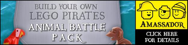 Ambassador Project - LEGO Pirates Animal Battle Packs - Signature
