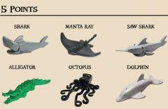 Animal Battle Pack - 5 Point Animals