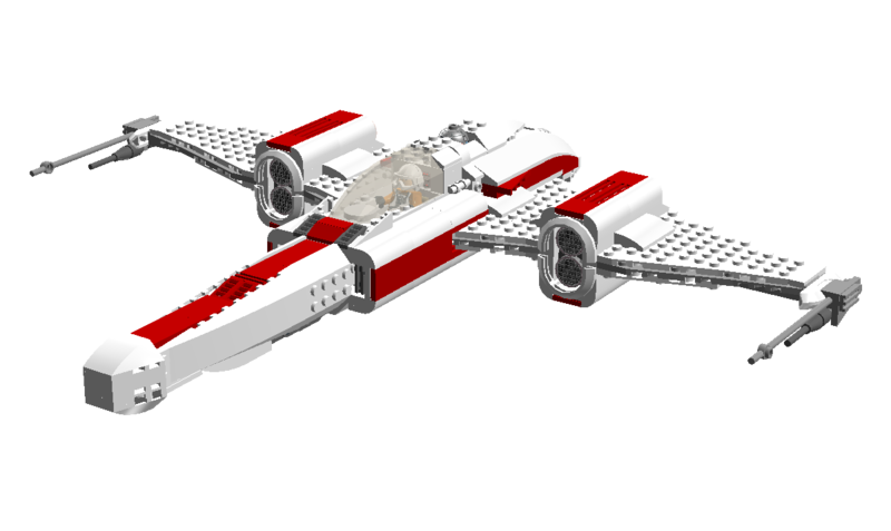 Rebel Alliance Fighter, by Bob De Quatre.png
