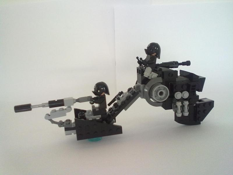 WW 676 Repulsorlift Sled, By actionman