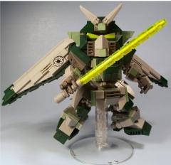 Yoda's Jedi Gundam, By M00DSWIM