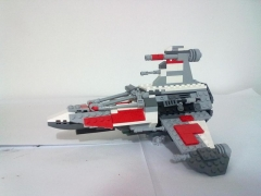T wing Interceptor, By actionman