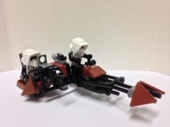 74 Z Speeder with Sidecar, By michaelozzie