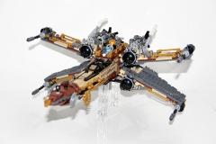 Steampunk X wing, By woon Tze