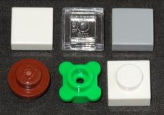 Lego House 4000010 Extra parts