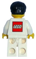 Lego House 4000010 Miniifig back
